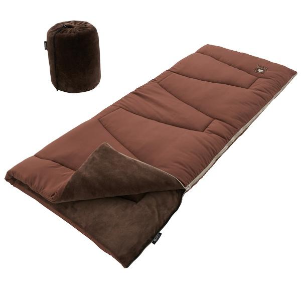 ロゴス(LOGOS) 封筒型シュラフ(寝袋)スリーシーズン用 丸洗いソフトタッチシュラフ・-4 72600530 シュラフ(寝袋) 封筒型シュラフ(寝袋) キャンプ アウトドア