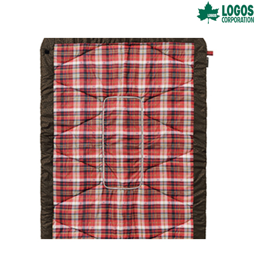 ロゴス(LOGOS) 封筒型シュラフ(寝袋)スリーシーズン用 こたつ布団シュラフ12060 72601050 シュラフ(寝袋) 封筒型シュラフ(寝袋) キャンプ アウトドア