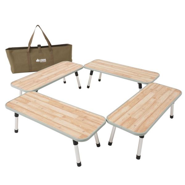 ロゴス(LOGOS) フォールディングテーブル LOGOS Life 囲炉裏ラックテーブル 81064137 ファニチャー(テーブル イス) テーブル 机 キャンプ アウトドア