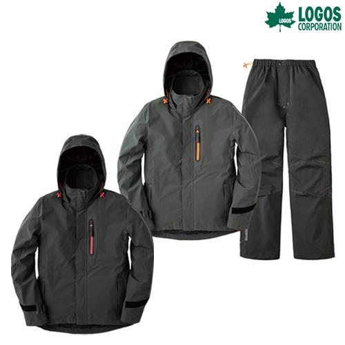 LOGOS(ロゴス) マルチストレッチレインスーツ ノーム LIPNER レインウェア レインウエア カッパ キャンプ アウトドア