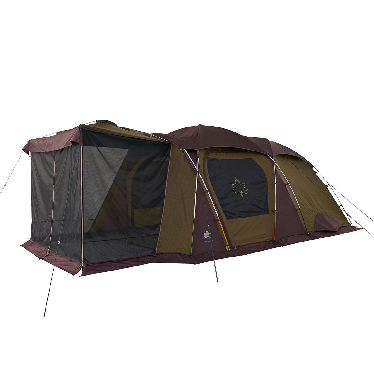 ロゴス(LOGOS) キャンプ用テント(3~5人用) プレミアム 3ルームドゥーブル XL-BJ 71805537 テント タープ キャンプ用テント キャンプ アウトドア