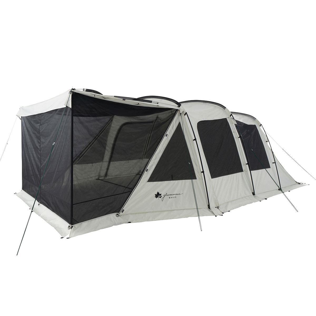 ロゴス(LOGOS) キャンプ用テント(3~5人用) グランベーシック 3ルームトンネルドーム WXL-BJ 71805545 テント タープ キャンプ用テント キャンプ アウトドア