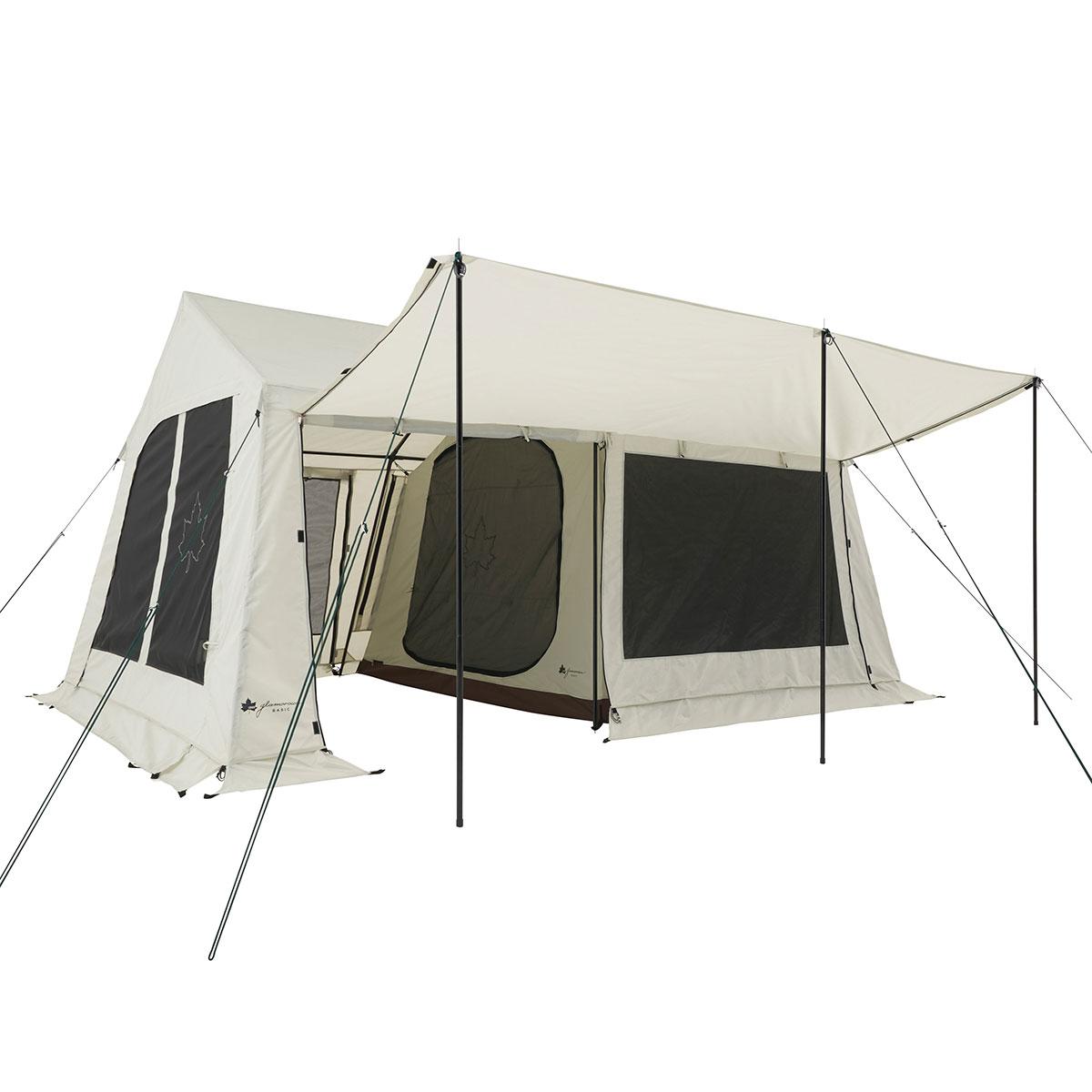 ロゴス(LOGOS) キャンプ用テント(3~5人用) グランベーシック リバイバルコテージ L-BJ 71805546 テント タープ キャンプ用テント キャンプ アウトドア