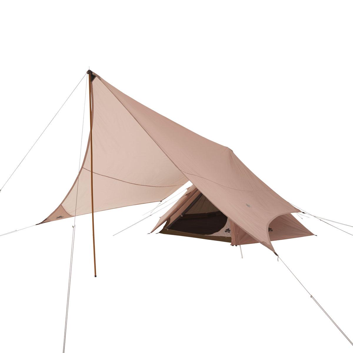 ロゴス(LOGOS) キャンプ用テント(3~5人用) Trad Tepeeタープ350-BJ 71805559 テント タープ キャンプ用テント キャンプ アウトドア