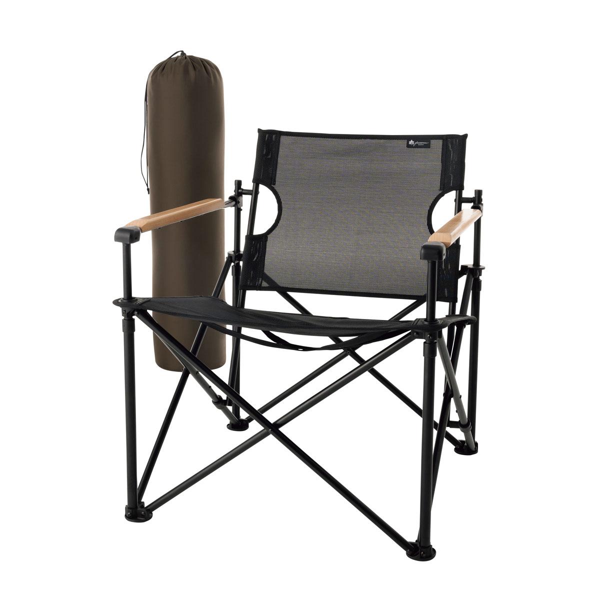 ロゴス(LOGOS) フォールディングチェア グランベーシック モダンチェア 73172025 ファニチャー(テーブル イス) イス チェア キャンプ アウトドア