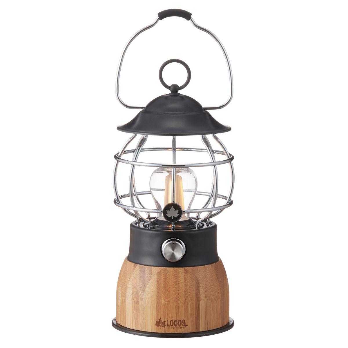 ロゴス(LOGOS) LED・電球ランタン Bamboo コテージランタン 74175016 ランタン キャンプ アウトドア