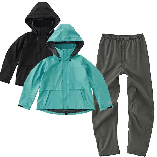 ロゴス(LOGOS) レインウェア LADIE'S マルチストレッチレインスーツ 雨具 キャンプ アウトドア