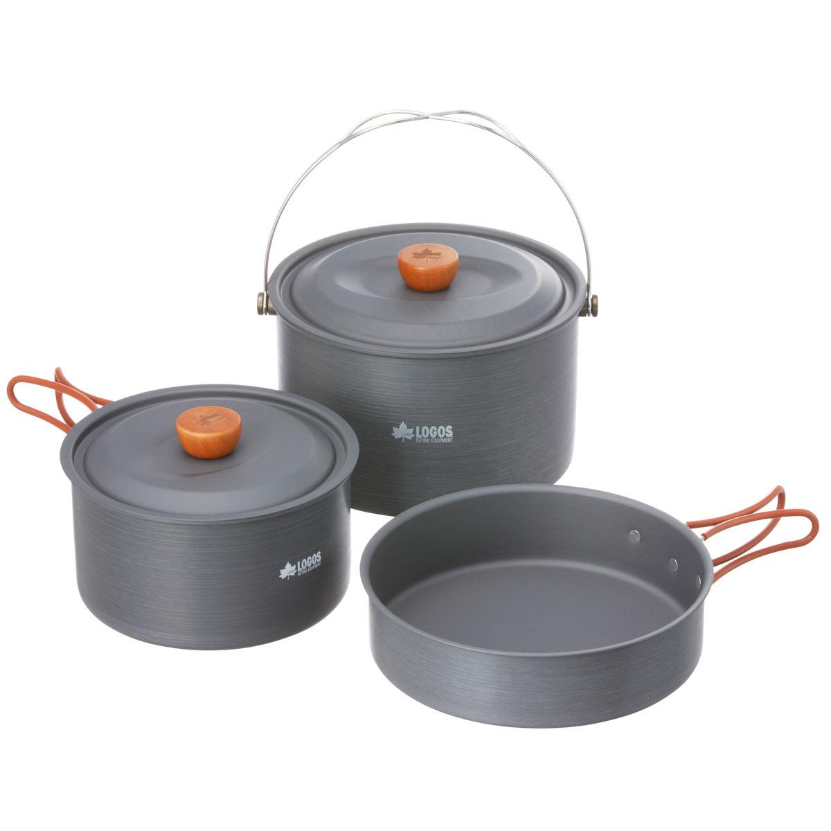 ロゴス(LOGOS) クッカー(鍋)単品 ファミリークッカーセット 81210209 調理用品 食器類 クッカー(鍋) 調理器具 キャンプ アウトドア