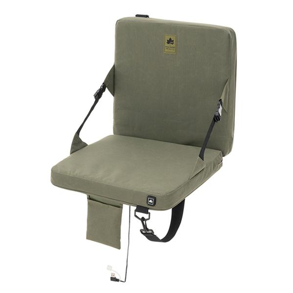 ロゴス(LOGOS) フォールディングチェア LOGOS ヒートユニット・背付クッションシート 84200040 ファニチャー(テーブル イス) イス チェア キャンプ アウトドア