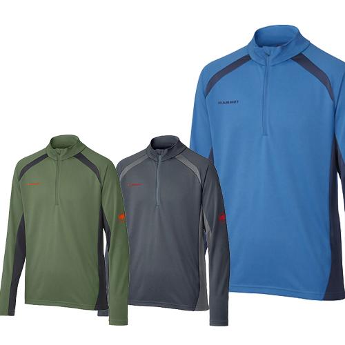 マムート(MAMMUT) パフォーマンス ドライ ジップ ロングスリーブ メンズ Performance Dry Zip longsleeve Men 登山 アウトドア キャンプ