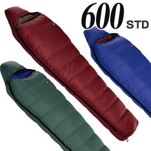 ナンガ (NANGA) ダウンバッグ 600 STD 寝袋 シュラフ ダウン コンパクト マミー型 登山 キャンプ アウトドア