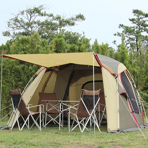 シュナーベル5 /小川キャンパル |OGAWACAMPAL オガワ テント 5人用 キャンプ シェルター ファミリー 家族 リビング
