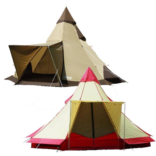 ピルツ15-II /小川キャンパル |OGAWACAMPAL オガワ テント 8人用 モノポールテント ティピー キャンプ