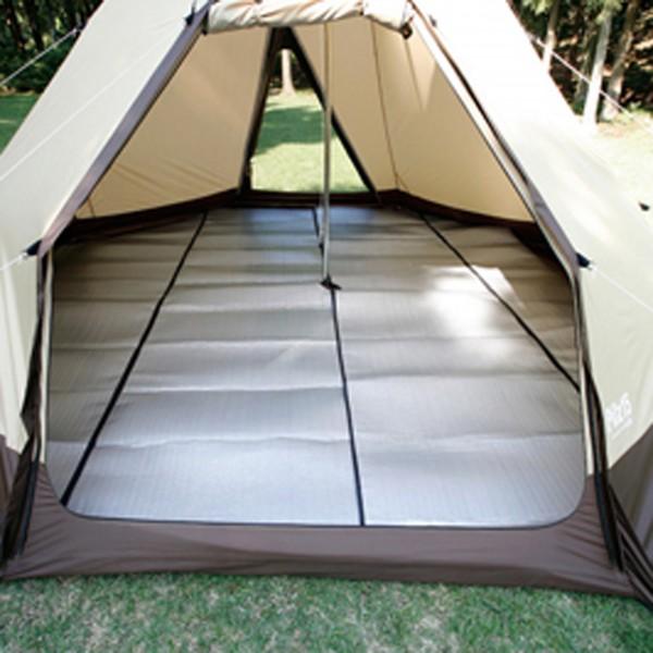 小川キャンパル(OGAWACAMPAL) テントマット フロアーマット ピルツ15用 3858 テント タープ用品 マット ベッド 寝具 キャンプ アウトドア