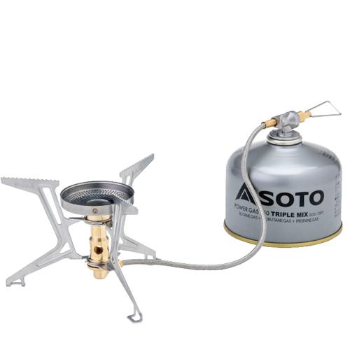 ソト(SOTO) ガスカートリッジストーブ マイクロレギュレーターストーブ FUSION Trek(フュージョントレック)SOD-330 sod-330 バーナー ストーブ ヒーター シングルバーナーストーブ キャンプ アウトドア