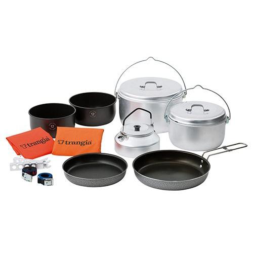 トランギア(trangia) クッカー(鍋)セット パーティー tr-400290 調理用品 食器類 クッカー(鍋) 調理器具 キャンプ アウトドア