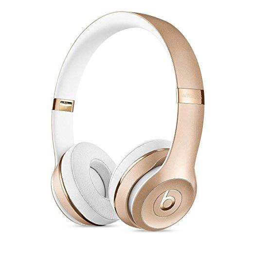新品未開封 送料無料 Beats Solo 3 Wireless オンイヤーヘッドフォン ソロ3 ワイヤレス ゴールド NBH8VH