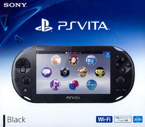 SONY PlayStationVITA PCH-2000 ZA11 (PCH-2000ZA11) 未使用