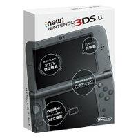 送料無料 未使用Newニンテンドー3DS LL メタリックブラック 任天堂 [RED-S-MAAA]ゲーム機