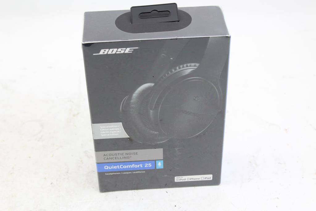 ♪新品未開封♪ BOSE ボーズ QuietComfort 25 ACOUSTIC NOISE CANCELLING ヘッドホン JAN:017817701396