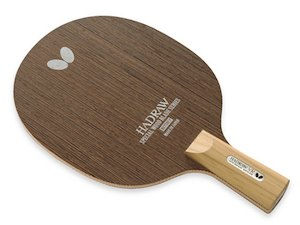 送料無料 新品  バタフライ 卓球 ラケット ハッドロウVR/CS ペン 中国式 / 23760 UM7988