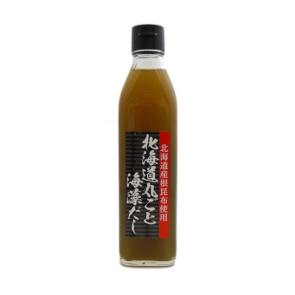 北海道産根昆布使用 北海道丸ごと海藻だし 300ml×20本 セット 濃厚だし調味料 石山味噌醤油 本州送料無料