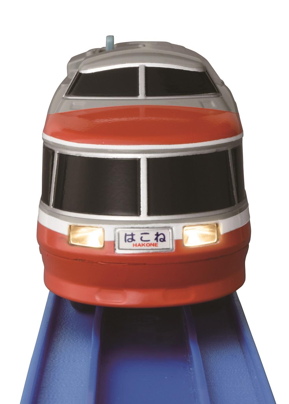 数量限定!【6月14日よりお申し込み順に発送】「ライト付小田急ロマンスカーLSE」オリジナルプラレール