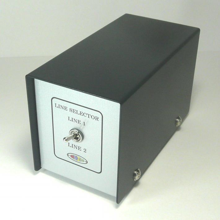 SL-2-1-R 2CHラインセレクター 音声信号切り替え機 オデオ
