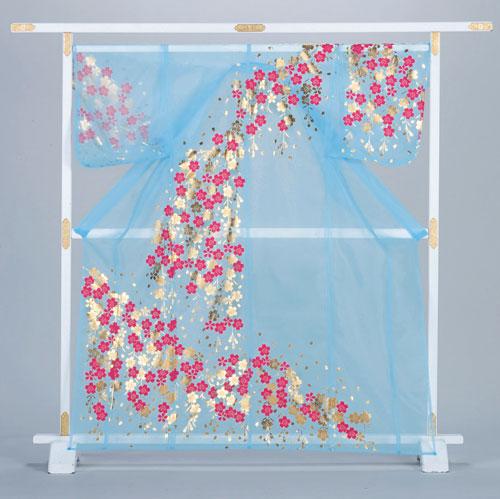 【ネット限定】 かつぎ 桜 桜 かつぎ 水色※こちらはかけ仕立てでのお届けですかつぎ仕立にもできます。, R&Bミニカー:1592012c --- canoncity.azurewebsites.net