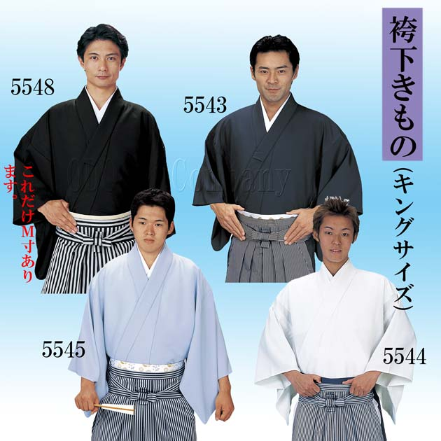 袴下きもの 仕立て上り 男性用キングサイズ 成人式や入学式、卒業式にも。「きぬずれ」