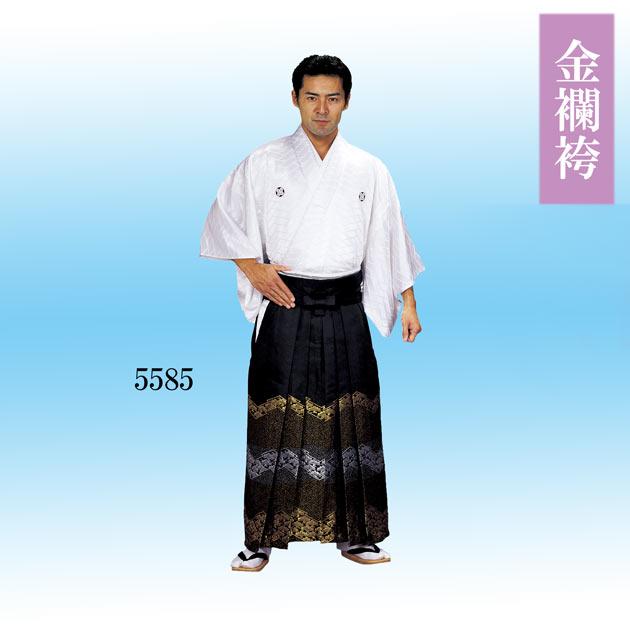 踊り用 袴 金襴ぼかし袴 舞踊袴 はかま