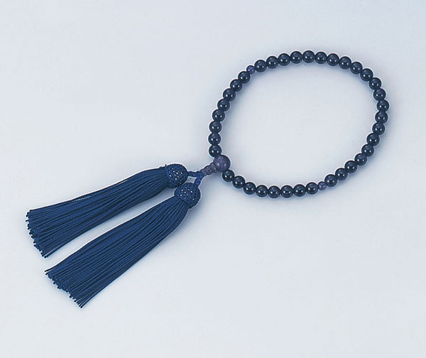 あづま姿 数珠 女性用片手 紫水晶 NO.517