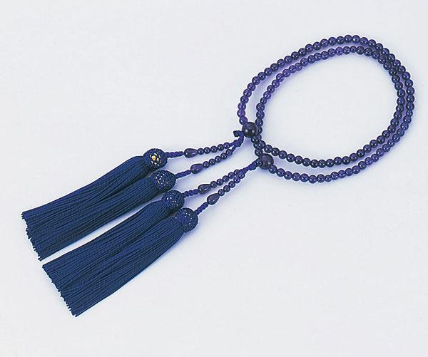 あづま姿 数珠 女性用二輪 紫水晶