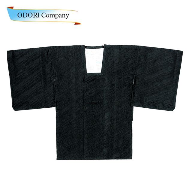 道行コート 道中着和服用コート 黒 着物 和装