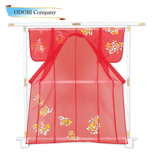 かつぎ かけ仕立 椿 赤被衣 ※こちらはかけ仕立てでのお届けですかつぎ仕立にもできます。