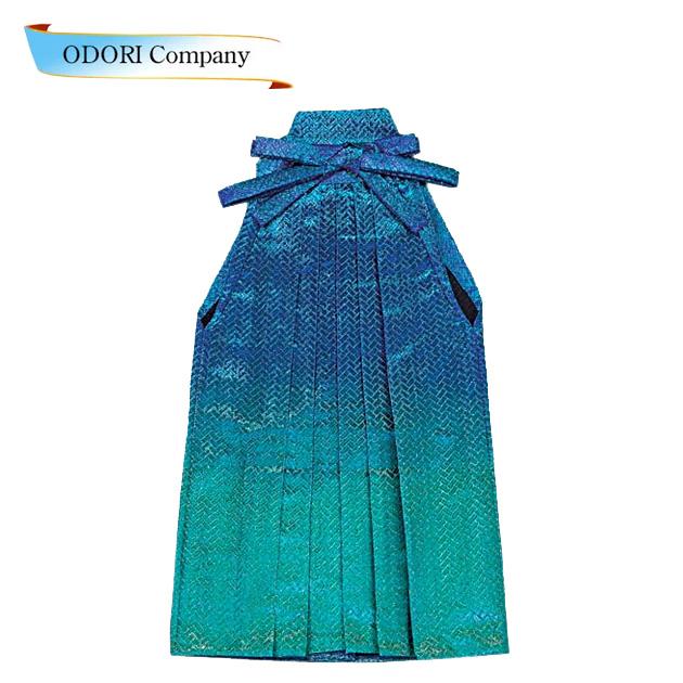 踊り用 袴 舞台衣装色変わり袴(仕立て上がり)はかま 「きぬずれ」A-y