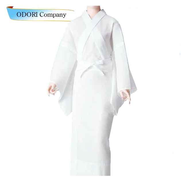 夏物長襦袢 夏変わり揚柳 踊り用 業務用洗える襦袢 着物 和服 下着「きぬずれ」