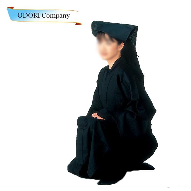 黒子 衣装 大人 男女兼用 本格 セット コスプレ 仮装