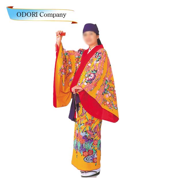 沖縄民謡衣裳 びんがた衣裳 単衣仕立て上り※ご自宅でお手入れができます。