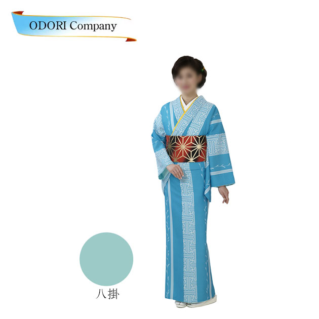 舞台衣裳 小紋 胴抜 仕立て上がり 着物(きもの)水地柳 縞 当社オリジナル