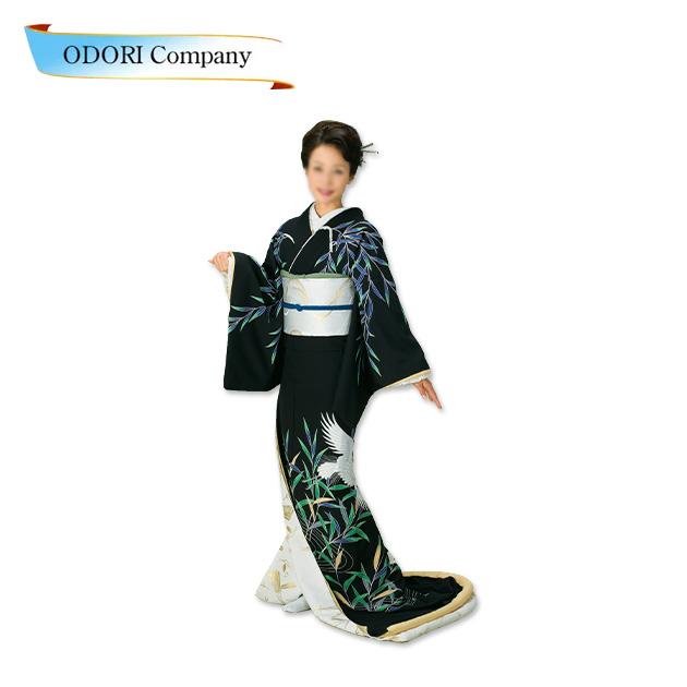 踊り 着物 裾引き 芸者着 仕立上がり ポリエステル日本舞踊、歌謡舞踊 大衆 演劇 ステージ 着物(きもの)