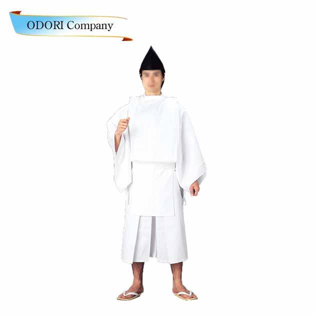 白丁 神官衣装 祭り 神職 寺 神社
