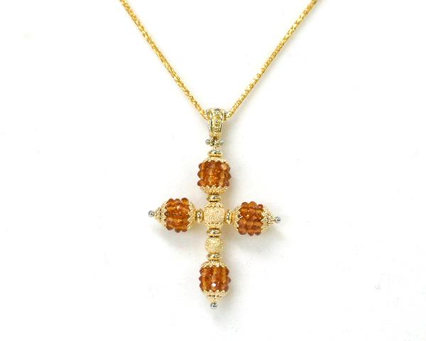 Italian jewelry oe rakuten global market italian jewelry 18 karat italian jewelry 18 karat gold k18 yellow gold x citrine cross pendant abato rpa2084 aloadofball Gallery