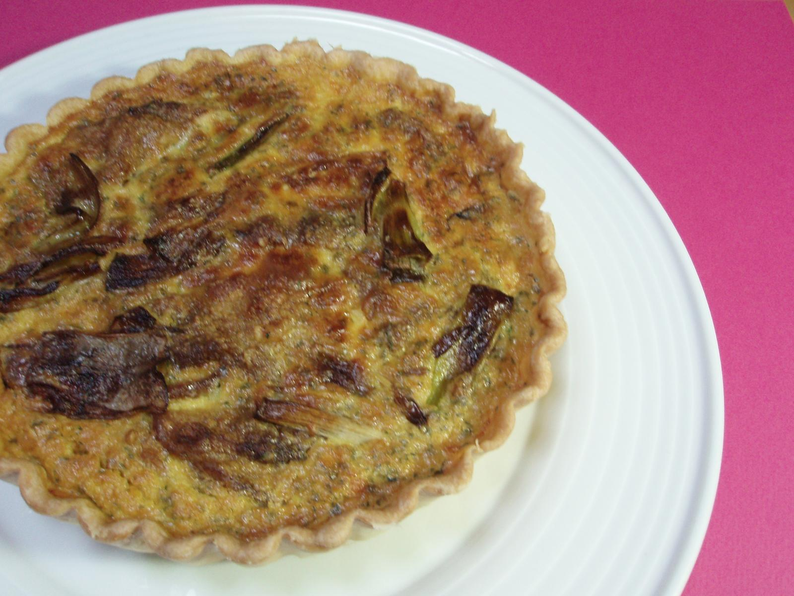 Oeuf Chicken Curry Flavored Quiche 19 Cm With A Birthday Cake
