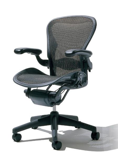 赫尔曼 · 米勒 05P24Oct15 [HermanMiller,人体工学椅子 B 大小 (AE113AWB-AJG1BBBK3D01)