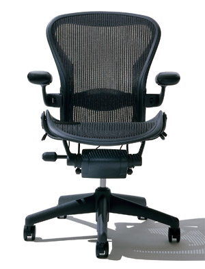 of9 | Rakuten Global Market: Herman Miller Aeron chair size B ...