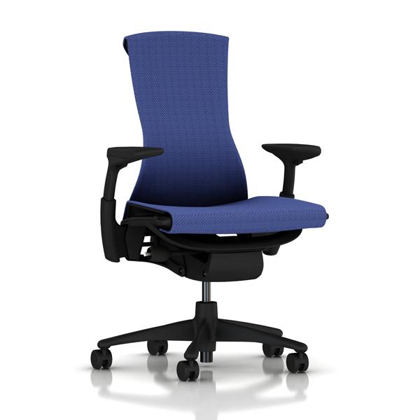 [HermanMiller] エンボディチェア(Embody Chair)【シートタイプ:バランスファブリック】【グラファイトカラーベース】【グラファイトカラーフレーム】【EGP】ハーマンミラーアーロンチェア後継機/EGP