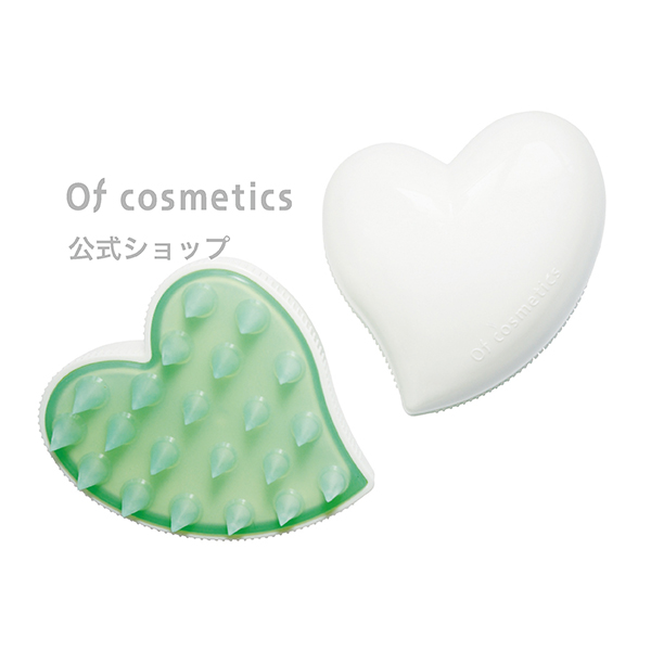 Of cosmetics公式ショップ 哺乳瓶の口と同じ素材でできた 地肌に優しいブラシ 手より洗いやすく効率的に 繊細に洗えます 全品ポイント3倍 1着でも送料無料 新作製品、世界最高品質人気! 美容室専売 サロン専売 ホワイト ヘッドスパブラシ おすすめのヘアケア オブコスメティックス 美容師
