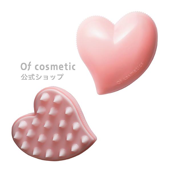 Of cosmetics公式ショップ 哺乳瓶の口と同じ素材でできた 地肌に優しいブラシ 美品 手より洗いやすく効率的に 繊細に洗えます 全品ポイント3倍 日本製 ヘッドスパブラシ 美容師 オブコスメティックス サロン専売 美容室専売 ローズ おすすめのヘアケア