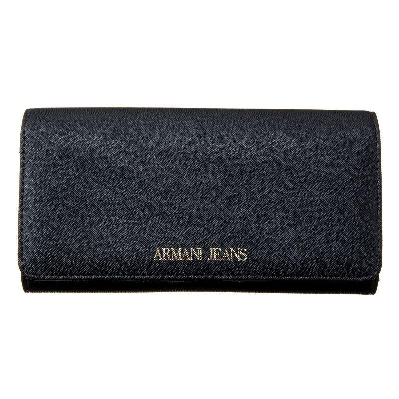 アルマーニジーンズ 財布 長財布 メンズ ブラック ARMANI JEANS 928541 CD857 00020 誕生日 ブランド かっこいい 父の日 プレゼントにも 高級 20代 30代 40代 50代 60代 あす楽 送料無料 返品OK